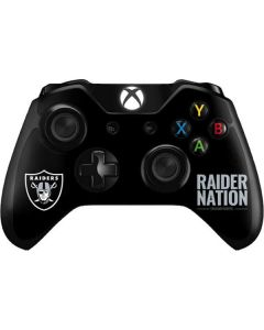 Oakland Raiders Team Motto Xbox One Controller Skin
