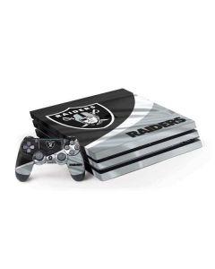 Oakland Raiders PS4 Pro Bundle Skin