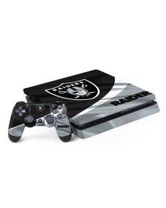 Oakland Raiders PS4 Slim Bundle Skin