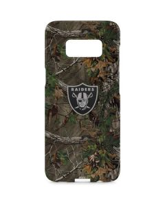 Oakland Raiders Realtree Xtra Green Camo Galaxy S8 Plus Lite Case