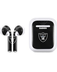 Oakland Raiders Team Jersey Apple AirPods Skin