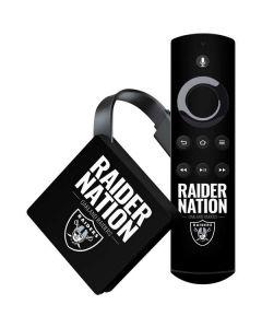 Oakland Raiders Team Motto Amazon Fire TV Skin