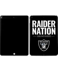 Oakland Raiders Team Motto Apple iPad Skin