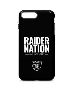 Oakland Raiders Team Motto iPhone 8 Plus Pro Case