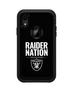 Oakland Raiders Team Motto Otterbox Defender iPhone Skin