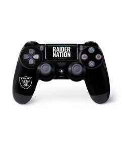 Oakland Raiders Team Motto PS4 Pro/Slim Controller Skin