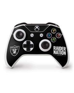 Oakland Raiders Team Motto Xbox One S Controller Skin