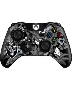 Oakland Raiders Tropical Print Xbox One Controller Skin