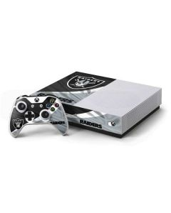 Oakland Raiders Xbox One S Console and Controller Bundle Skin