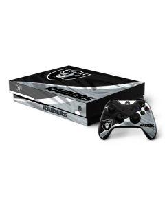 Oakland Raiders Xbox One X Bundle Skin