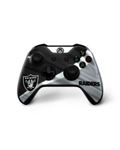Oakland Raiders Xbox One X Controller Skin