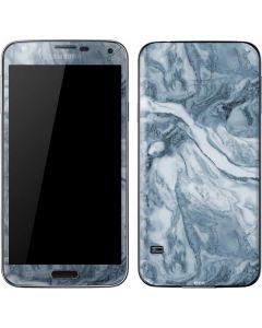 Ocean Blue Marble Galaxy S5 Skin