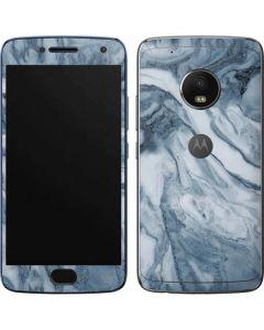 Ocean Blue Marble Moto G5 Plus Skin