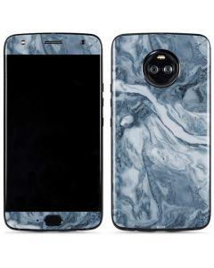Ocean Blue Marble Moto X4 Skin