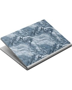 Ocean Blue Marble Surface Book Skin