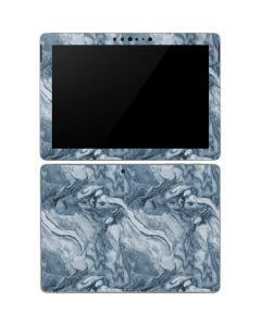 Ocean Blue Marble Surface Go Skin