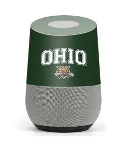 Ohio Bobcats Google Home Skin