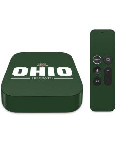 Ohio Bobcats Logo Apple TV Skin