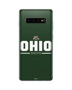 Ohio Bobcats Logo Galaxy S10 Plus Skin