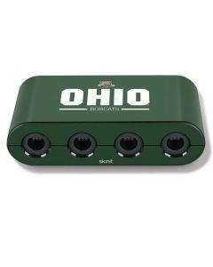 Ohio Bobcats Logo Nintendo GameCube Controller Adapter Skin