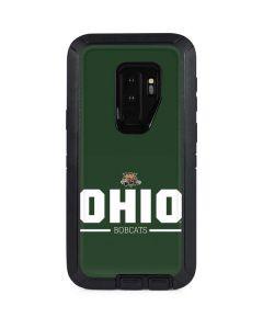 Ohio Bobcats Logo Otterbox Defender Galaxy Skin