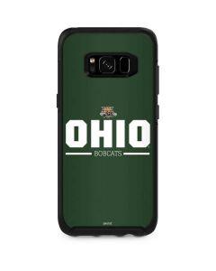 Ohio Bobcats Logo Otterbox Symmetry Galaxy Skin