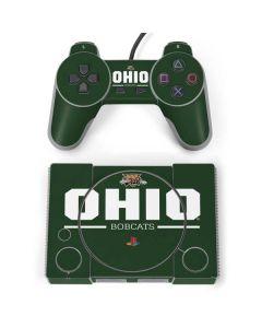 Ohio Bobcats Logo PlayStation Classic Bundle Skin