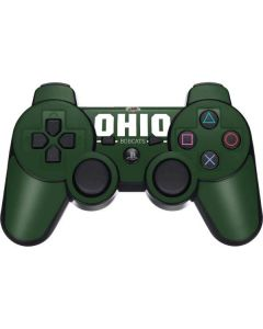 Ohio Bobcats Logo PS3 Dual Shock wireless controller Skin