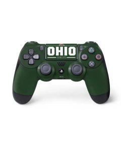 Ohio Bobcats Logo PS4 Controller Skin