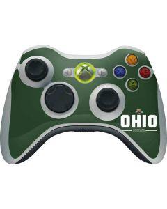 Ohio Bobcats Logo Xbox 360 Wireless Controller Skin