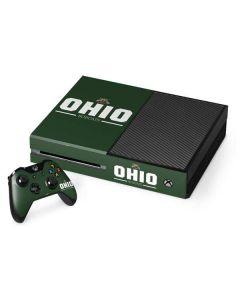 Ohio Bobcats Logo Xbox One Console and Controller Bundle Skin