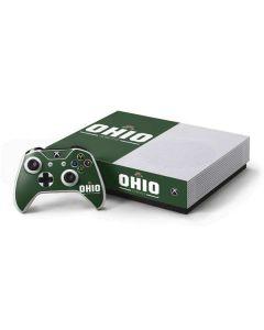 Ohio Bobcats Logo Xbox One S All-Digital Edition Bundle Skin