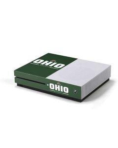 Ohio Bobcats Logo Xbox One S Console Skin