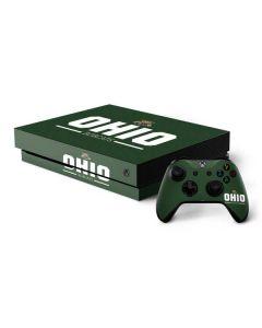 Ohio Bobcats Logo Xbox One X Bundle Skin