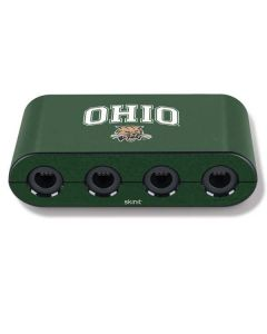 Ohio Bobcats Nintendo GameCube Controller Adapter Skin
