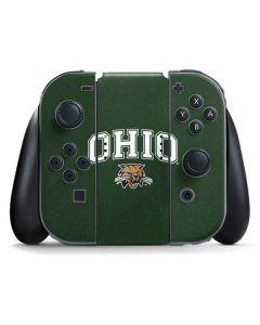 Ohio Bobcats Nintendo Switch Joy Con Controller Skin