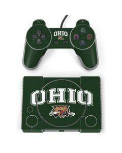 Ohio Bobcats PlayStation Classic Bundle Skin