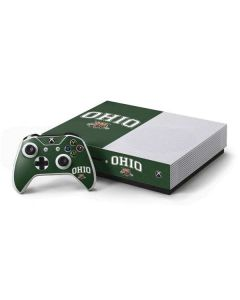 Ohio Bobcats Xbox One S Console and Controller Bundle Skin