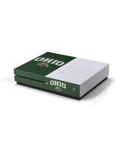 Ohio Bobcats Xbox One S Console Skin