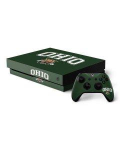 Ohio Bobcats Xbox One X Bundle Skin