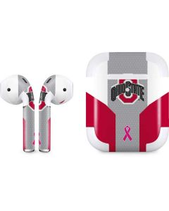 Ohio State Breast Cancer Apple AirPods 2 Skin