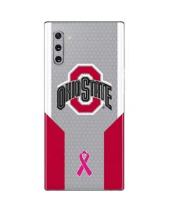 Ohio State Breast Cancer Galaxy Note 10 Skin