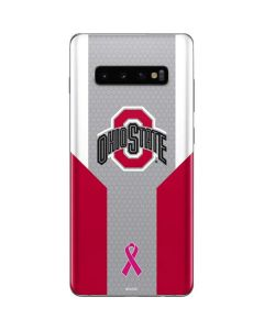 Ohio State Breast Cancer Galaxy S10 Plus Skin