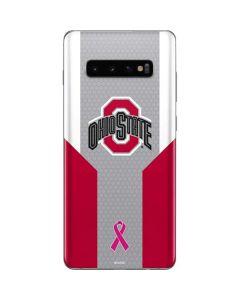 Ohio State Breast Cancer Galaxy S10 Plus Skin