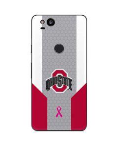 Ohio State Breast Cancer Google Pixel 2 Skin