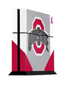 Ohio State Breast Cancer PS4 Console Skin