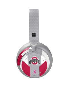 Ohio State Breast Cancer Surface Headphones Skin