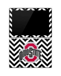 Ohio State Chevron Print Surface Pro 3 Skin