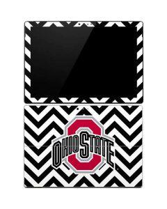 Ohio State Chevron Print Surface Pro 4 Skin