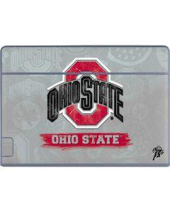 Ohio State Distressed Logo Galaxy Book Keyboard Folio 12in Skin